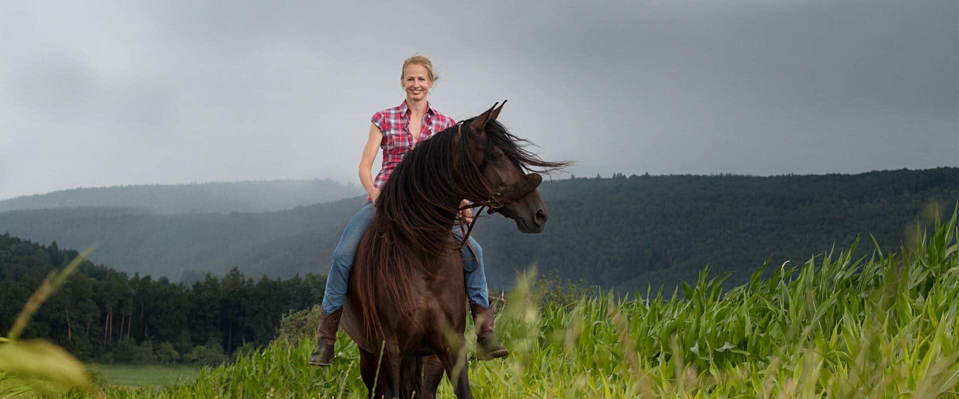 Pferdeosteopathie in Tübingen, Reutlingen und Stuttgart mit Sarah Henne